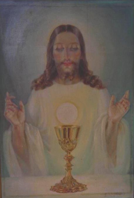 Resultado de imagem para sagrado coração eucarístico jesus