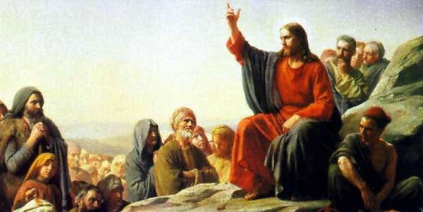 Resultado de imagem para Jesus pregando as bem aventurança